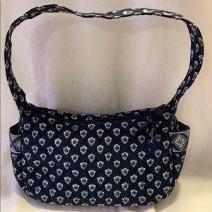 Vera Bradley Quilted Blue Mini Bag